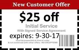 Naples Pest Control Coupon Good Until 9/30/17