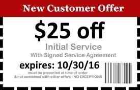 25 dollars off naples pest control services