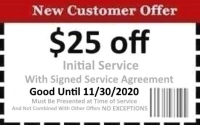 Naples Pest Control Coupon Good Until 11/30/2020